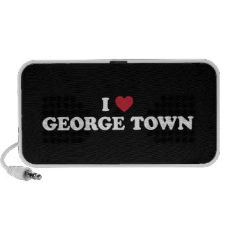 I Heart George Town Penang Malaysia Portable Speaker