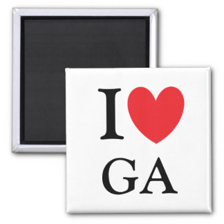 I Heart Georgia Magnet
