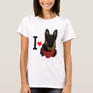 I Heart German Shepherd I love Shepards T-Shirt