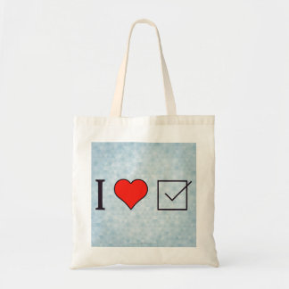 I Heart Getting It Over With Tote Bag