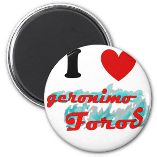 I heart GFO 2 Inch Round Magnet