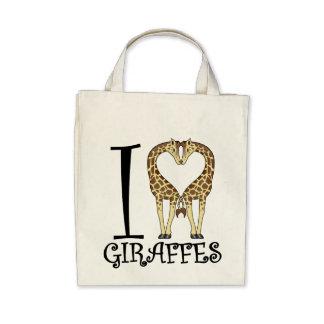 I Heart Giraffes Bag