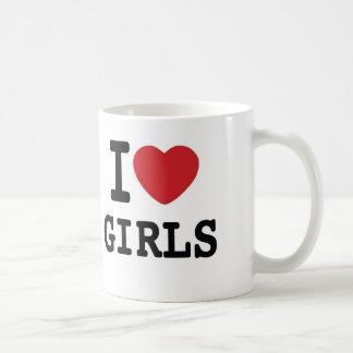 I Heart Girls Coffee Mug