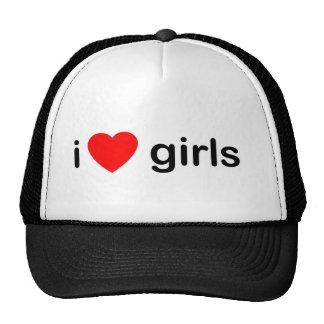 I Heart Girls - women love Mesh Hat