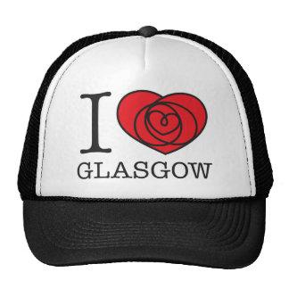 I Heart Glasgow Trucker Hat