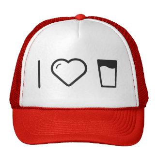 I Heart Glass Milks Trucker Hat