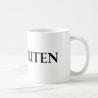 I Heart Gluten - Clear Coffee Mug