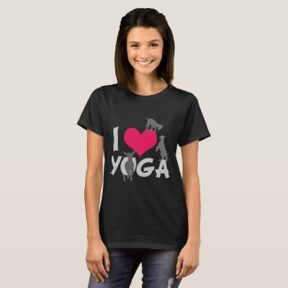 I HEART GOAT YOGA | GetYerGoat™ T-Shirt