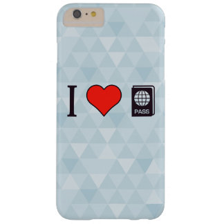 I Heart Going Abroad Barely There iPhone 6 Plus Case