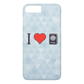 I Heart Going Abroad iPhone 7 Plus Case
