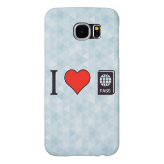 I Heart Going Abroad Samsung Galaxy S6 Case