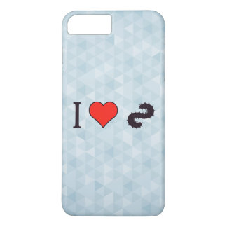 I Heart Going Fishing iPhone 8 Plus/7 Plus Case