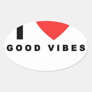 i heart good vibes shirt.png oval sticker