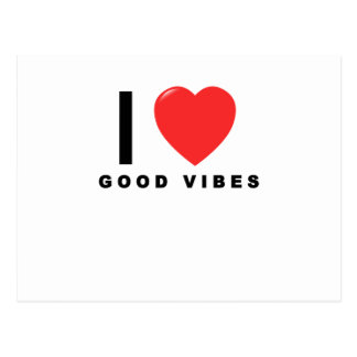 i heart good vibes shirt.png postcard