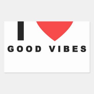 i heart good vibes shirt.png rectangular sticker