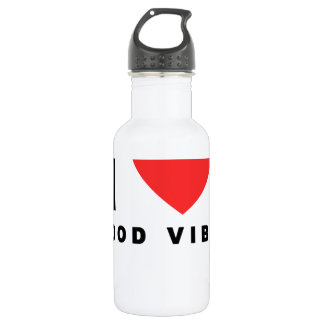 i heart good vibes shirt.png stainless steel water bottle