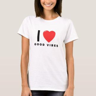 i heart good vibes shirt.png T-Shirt