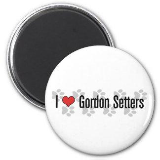 I (heart) Gordon Setters Magnet