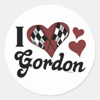 I Heart Gordon Sticker