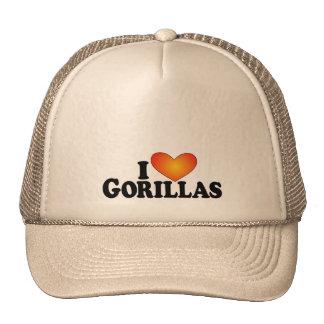 I (heart) Gorillas - Lite Products Trucker Hats