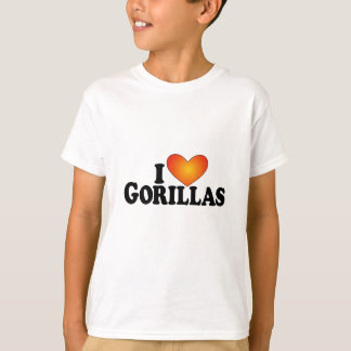 I (heart) Gorillas - Lite Products T-Shirt