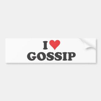 I Heart Gossip Bumper Sticker