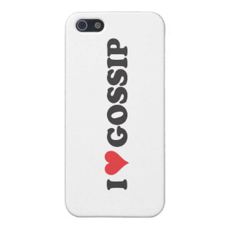 I Heart Gossip (long) iPhone SE/5/5s Cover