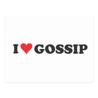 I Heart Gossip (long) Postcard