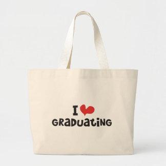 I heart Graduating Jumbo Tote Bag