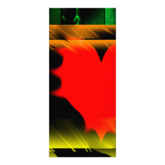 I heart Grahpics Customized Rack Card