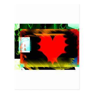 I heart Grahpics Postcard