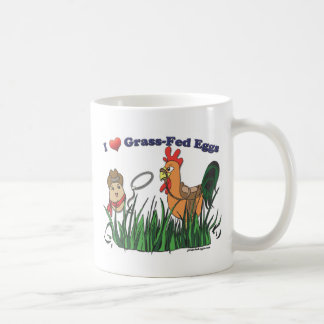 I Heart Grass-Fed Eggs Coffee Mug
