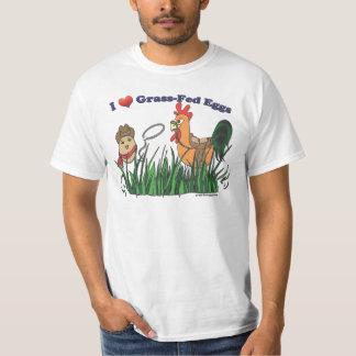 I Heart Grass-Fed Eggs Shirt