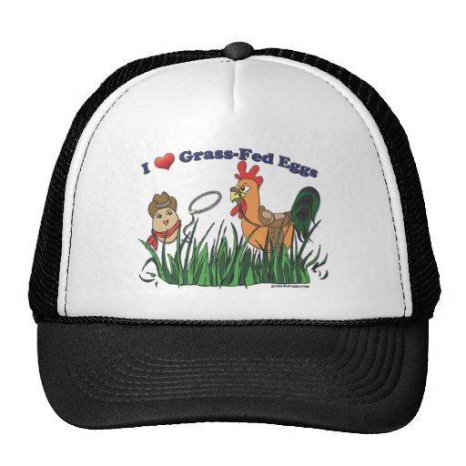 I Heart Grass-Fed Eggs Trucker Hat