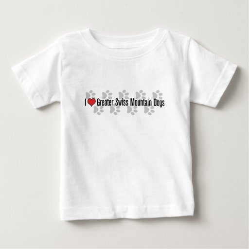 I (heart) Greater Swiss Mountain Dogs Shirts