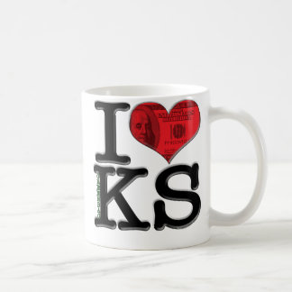 I (heart) greenbacKS Classic White Coffee Mug