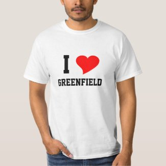 I Heart GREENFIELD T-Shirt