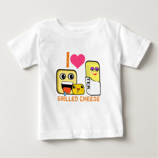 I Heart Grilled Cheese Baby T-Shirt