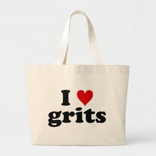 I Heart Grits Jumbo Tote Bag