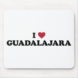 I Heart Guadalajara Mexico Mouse Pad