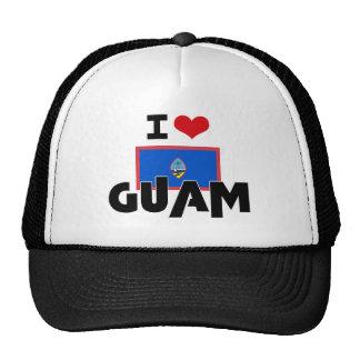 I HEART GUAM MESH HAT