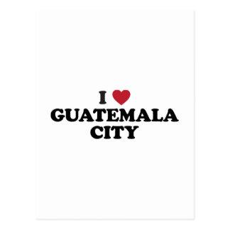 I Heart Guatemala City Guatamala Postcard