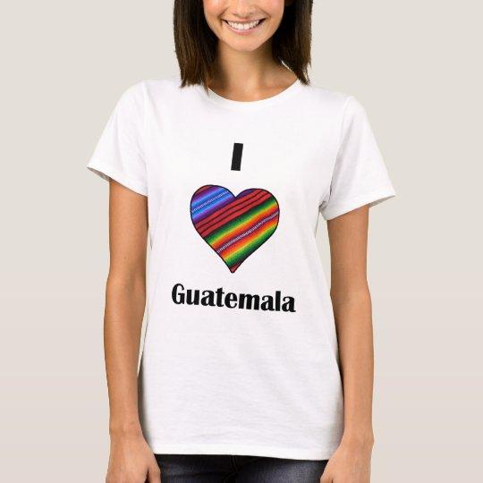 I heart Guatemala Tipico T-Shirt