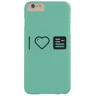 I Heart Guidelines Barely There iPhone 6 Plus Case