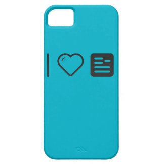 I Heart Guidelines iPhone 5 Covers