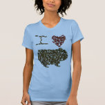 I Heart Guinea Pig T-Shirt