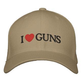 I Heart Guns Baseball Cap