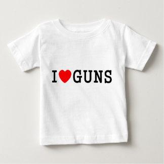 I Heart Guns T-shirt
