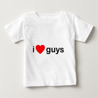 I Heart Guys - Love Men Boys Baby T-Shirt