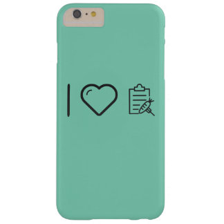 I Heart Gymnast Diets Barely There iPhone 6 Plus Case